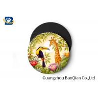 Quality Wild Animal Art Image Lenticular Coasters 3D Decoative Cup Placemat 0.6MM PET wholesale