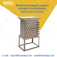 Quality Drawer Type Magnetic Roll Separator For Dry Quartz Powder 380V 3 - 8 Layer wholesale