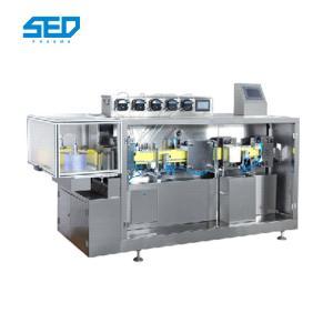 China PVC 100 Bottles/Min Liquid Filling Machine Five Head Sealing on sale