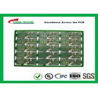 Quality 2 Layer PCB Board FR4 2.0MM Gold Surface Finish General Purpose PWB  Board wholesale