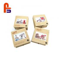 Recyclable Featuring Flexo Printing FSC BSCI Standard Kraft Paper Packaging Box