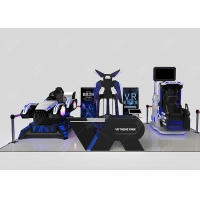 Quality Other Amusement Park Products Virtual Reality Interactive Gaming Center Vr 9d Theme Park Vr Zone wholesale
