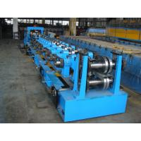 Quality C Purlin Roll Forming Equipment  / Cold Roll Forming Machine with Gearbox Drive for Steel C Purlin wholesale