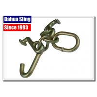 Quality Tow Strap Accessories Steel Ratchet Strap Hooks , Vehicle Tie Down Hooks wholesale