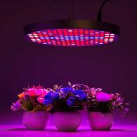 Quality Marijuana UFO LED Grow Lights With Alluminum / PC Materials , Dia 33x H3 cm wholesale