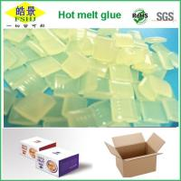 Cheap Yellow Clear Hot Melt Pellets Quick Drying Hot Melt Glue For Carton Packaging for sale
