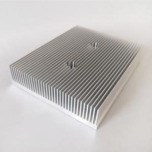 Quality Aluminum Fin Radiator Aluminum CNC Machining Heatsink  for Industrial Use wholesale