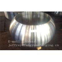 Quality Spherical Size Rough Turned Valve Forging ASTM A105 F304 F316 F51 F53 F60 wholesale
