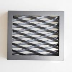 Quality Framed Powder Coating Expanded Mesh Ceiling Panels wholesale