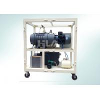 Quality Double Stages High Vacuum Pump System Combination For Electrical Equipment Air Dryer wholesale