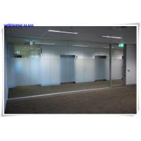 Quality Tempered opaque translucent frosted tempered satin sandblasted etched glass wholesale