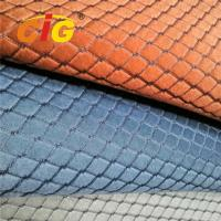 Buy cheap Soft Jacquard Sponge Auto Upholstery Fabric For Car Seat Cover 220gsm 4MM Foam from wholesalers
