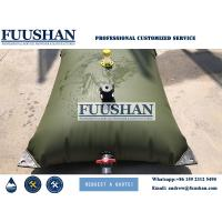 Quality Fuushan Customized Size Collapsible PVC Flexible Water Storage Tanks wholesale