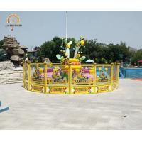 Quality Potable Crazy Dance Ride Bee Coffee Cup Rides 220v Voltage 3.5m Height wholesale
