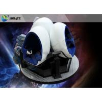 Quality Gorgeous Splendid Outdoor 9D VR Cinema 360 Degree Rotation Customize wholesale