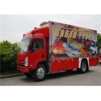 Quality Two Seats Commercial Fire Trucks Japanese Chassis With 13 Sets Communication Modules wholesale