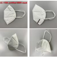 Buy cheap Sanitary Disposable Dust Mask Disposable Mask 3 Ply Respirators Anti Pollution from wholesalers