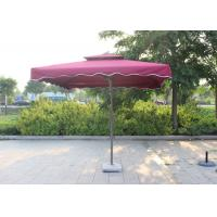 Cheap Suspended Rectangular Outdoor Umbrella Bali Style Digital Printed For Villa for sale