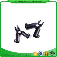 Quality Adjustable Garden Cane Connectors , 16mm Black Bamboo Cane Connectors 50*40*40 Free sample wholesale