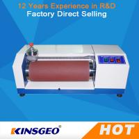 Buy cheap Manual Automatic AC 220V, 50 ~60Hz 3A Rubber Abrasion Resistance Test Machine with 12 Months Warranty from wholesalers