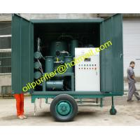 Quality Mobile Transformer Oil Purifier Plant with Single Axle Trailer,Movable Insulation Oil Processing equipment wholesale