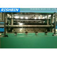 Colored Steel Roof Panel Roll Forming Equipment / Sheet Metal Rolling Machine