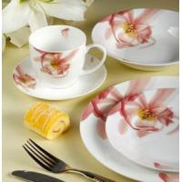 Quality 22 pieces porcelain western dinner set wholesale