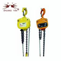 Quality Anti Corrosion Manual Chain Block , Material Lifting Hoist Built In Double Bearing wholesale
