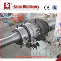 Buy cheap pe single wall corrugated pipe extrusion making machine pipe making machinery from wholesalers