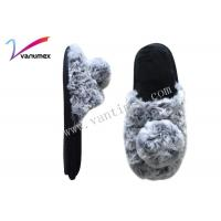 Quality Lovely Princess Indoor Home Warm Fluffy Slippers with Close toe / Open toe wholesale
