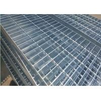 Quality Plain Type Metal Walkway Grating , 25 X 5 / 30 X 3 Galvanized Floor Grating wholesale
