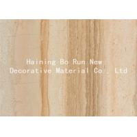 Quality Durable PET Hot Stamping Film , Wood Grain Hydrographic Film Damp Proof wholesale