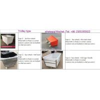 K300-5 Customized rectangular Roto Moulded textile Crates for textile industry L 800* W560* H850 mm