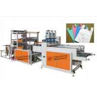 Quality Model LC-BS 800x4 cold cutting bag machine with auto T-shirt puncher wholesale