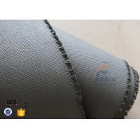 Quality 1600gsm Grey Thermal Welding Blanket Materials Silicone Coated Fiberglass Fabric wholesale