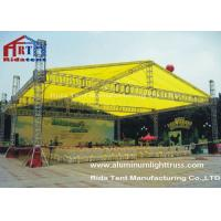 Quality Arc Roof Hanging Lighting Box Stage Truss Systems Spigot 6 Pillars Aluminum wholesale