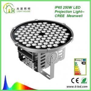 Quality High Power 250W Floodlight High Mast Lighting Firxture , IP67 High Mast Tower Lighting wholesale