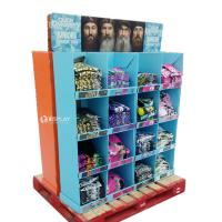Quality T - Shirt Advertising Cardboard Pallet Display Shelf With Wonderful Design wholesale