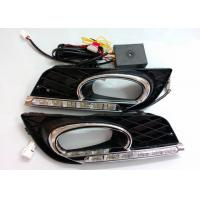 Quality Shockproof Chrome Auto Accessories , Honda Civic 2011 - 2013 DRL LED Daytime Running Lights Indicator Replacement wholesale