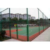 Quality Sports Field Wire Mesh Fence Stainless Steel Green Color Gavlanized Finish wholesale