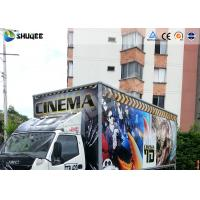 Quality 5D Dynamic Theater Simulation 5D Movie Theater With Exciting 12 Secial Effect wholesale
