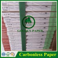 Cheap Premium quality 3 ply NCR paper/carbonless paper with sheet and roll for sale