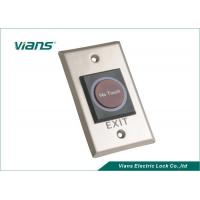 China Dc12v No Touch Push Button , Door Release Button To Open The Door on sale