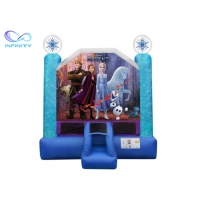 Quality 1000D 3 In 1 Jumping Castle Inflatable Trampoline Bouncer wholesale