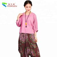 Quality YIZHIQIU cotton blouse women Casual Blouse ropa mujer wholesale