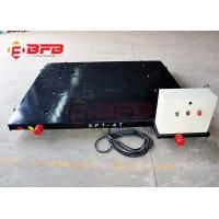 Quality China manufacturer customized ac motor dragged cable power electric transfer cart on rails wholesale