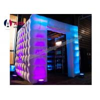 Quality Customized Logo Print Photo Booth Inflatable Square Home Photography Studio wholesale