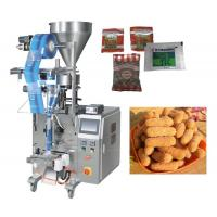 Buy cheap 50 - 500g Granule Pillow Bag Sealing Sachet Packing Machine For Seeds / Fry Foods from wholesalers