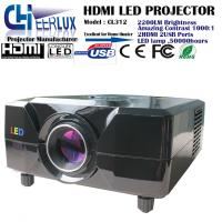 China cheap hd 1080p led projector with high lumens & multimedia interface & dvd player built in on sale