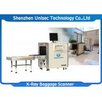 Quality Middle Size Dual Energy X Ray Baggage Scanner With High Solution Scanning Display wholesale
